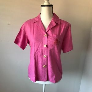 White Stag Womens Pink Blouse size Small #2